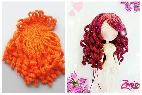 Amigurumi Saç Ekimi Nasıl Yapılır