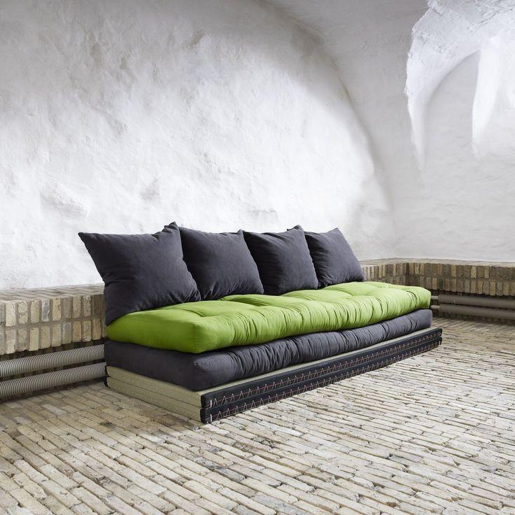 Oltre 25 fantastiche idee su cuscini divano su pinterest - Futon divano letto ...