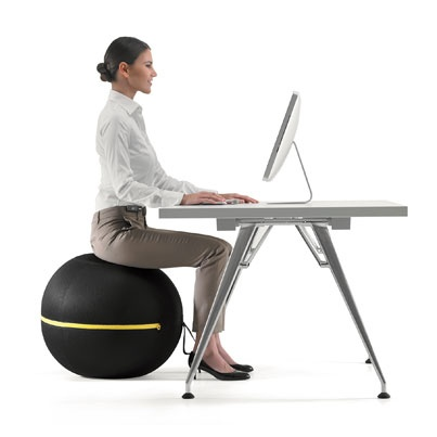 #Forme : Wellness Ball active sitting de #Technogym