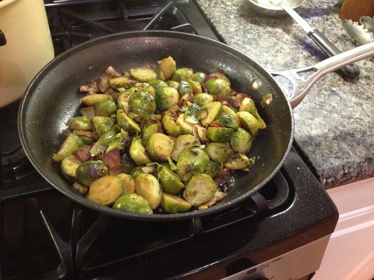 Sauteed Brussels Sprouts and Bacon: Amazing Healthy, Saut Brussels ...