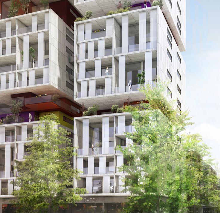 tour de logements / Bagnolet Architecture