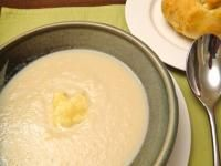 Recipe+Rockpool's+Cream+of+Cauliflower+Soup+with+Parmesan+by+gastromony+-+Recipe+of+category+Soups
