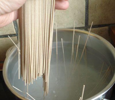 Cooking Soba Noodles