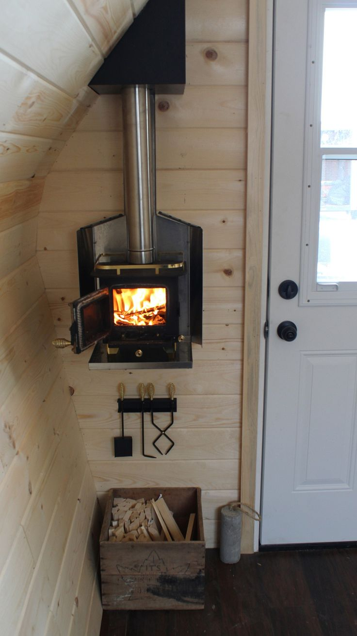 Acorn Cabin In 2019 Small Wood Burning Stove Tiny Wood