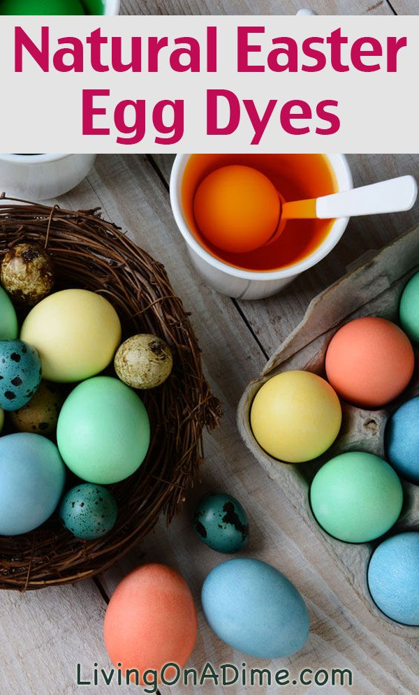Natural Easter Egg Dyes - How To Dye Easter Eggs