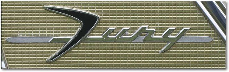 Emblem: The begining for Plymouth Fury 1956..