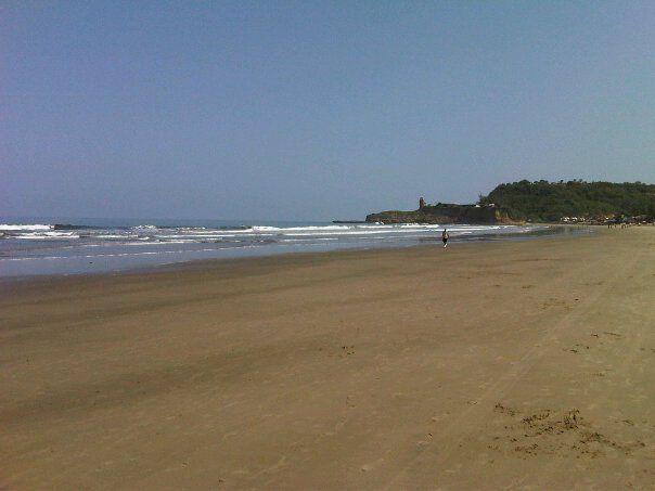 The beach of Montañita Ecuador