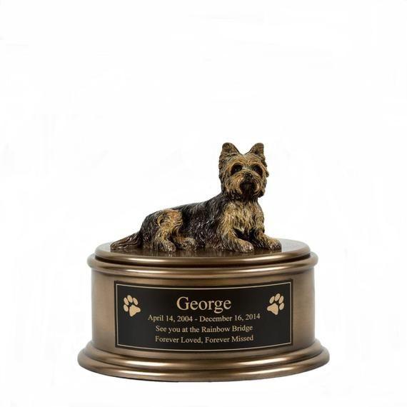 Shih Tzu Figurine Cremation Urn Engravable Pm18866 Perfect