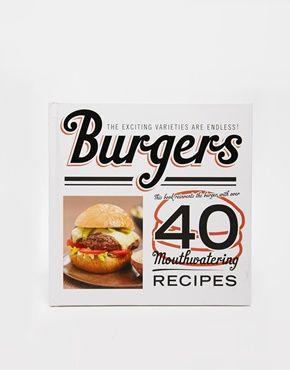 Enlarge Burgers Recipe Book
