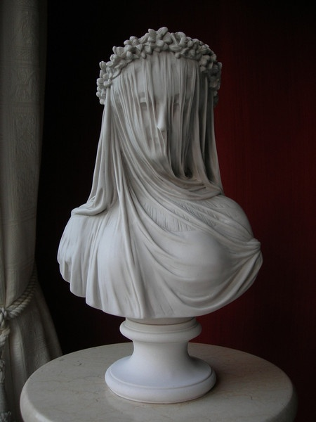 Marble Sculpture — 001 Veiled Lady