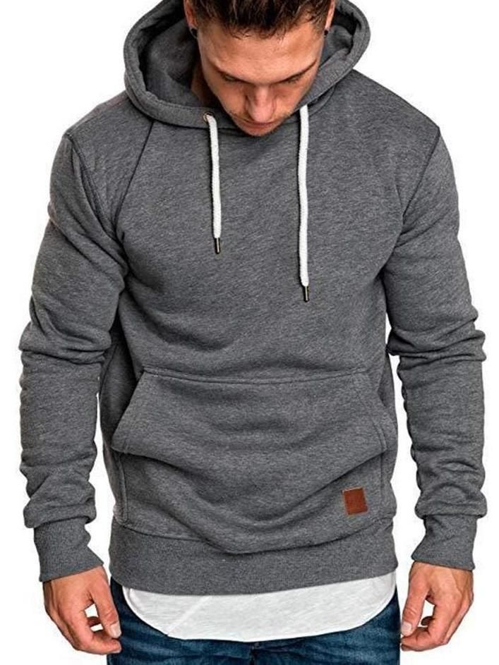Mens Pullover Hoodie Sweatshirt with Pockets Vegas Strong
