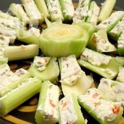 Seler naciowy z pastą serową