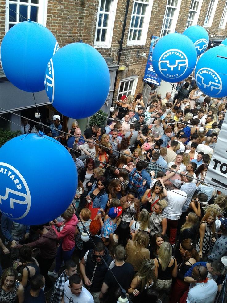Courtyard Party Leeds