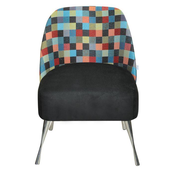 Fotel Twiggy pixel  www.monkeymachine.pl