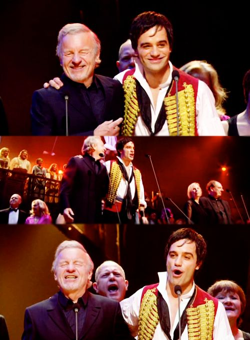 "Colm Wilkinson with Ramin Karimloo from ~ ""Les Miserables"""
