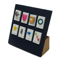 example of tactile symbols for communication