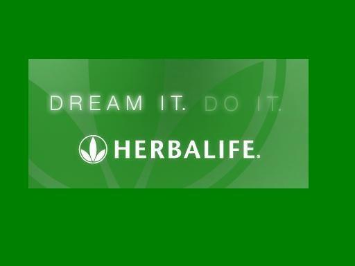 dream it. do it. herbalife!