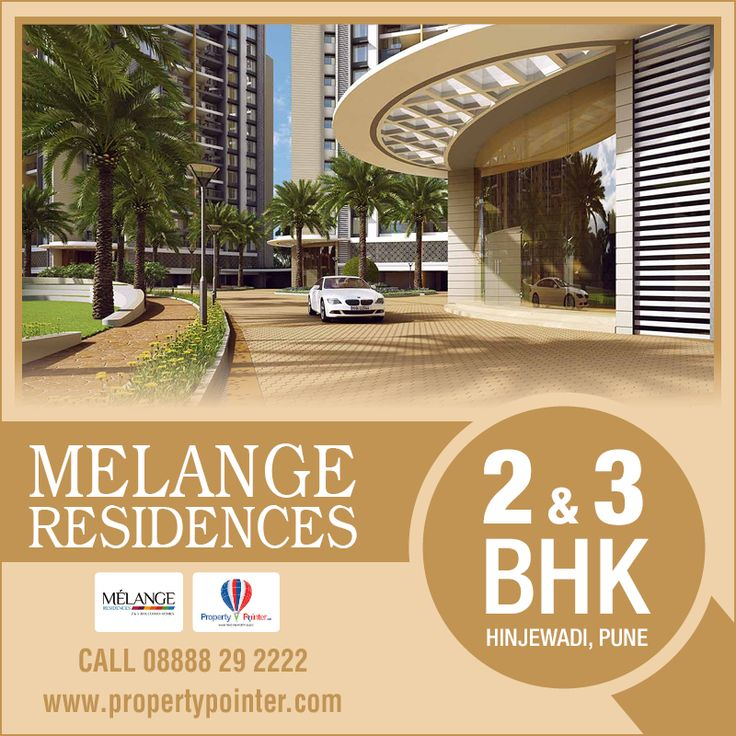 Melange Residences Pune is one of the top projects which are noted for the built quality and the consistency that the builders of the project maintain about their work. Melange Residences Pune can consider this project when they are looking for flats and apartments in the city of Pune. Melange Residences Pune by Rama Group offers 2, 3 BHK Apartments with all modern facilities.