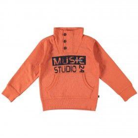 Narancssárga garbó nyakú póló