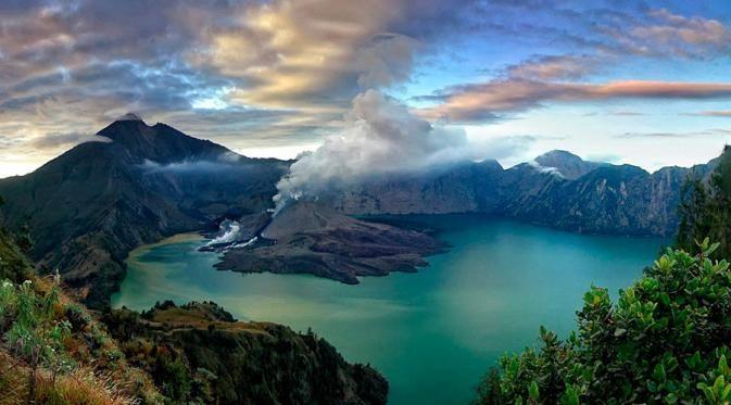 Berita Terkini : 5 Gempa Bumi Di Indonesia Ini Dipicu Oleh Latusan Anak Gunung Rinjani ! | iklanbarisweb