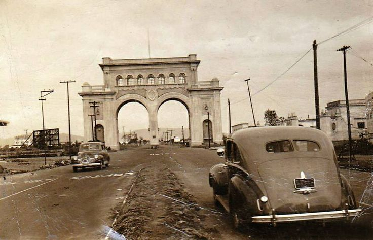 Arcos de Guadalajara 1950