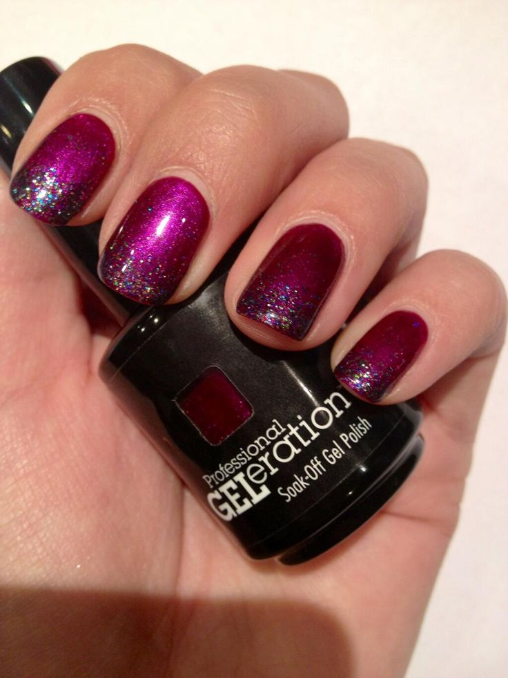 Jessica GELeration Opening Night with Time to Sparkle Onyx loose nail art glitter. Created by Cottons Hotel & Spa.