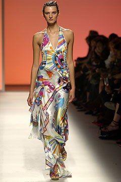 Emilio Pucci Spring 2004 Ready-to-Wear Fashion Show - Christian Lacroix, Kamila Szczawinska