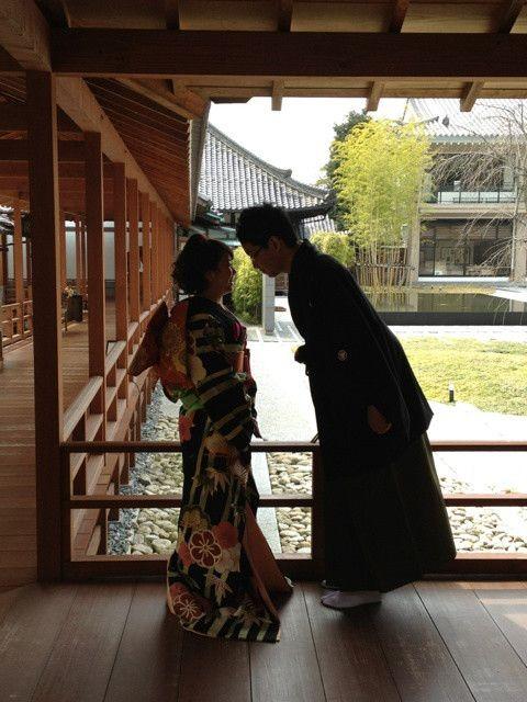 かわいい身長差カップル!! の画像|名古屋 和装前撮り・ロケーション撮影、結婚写真の「北徳」★若女将takakoのブログ