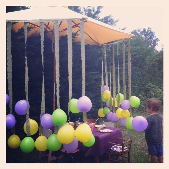 rideau de ballons