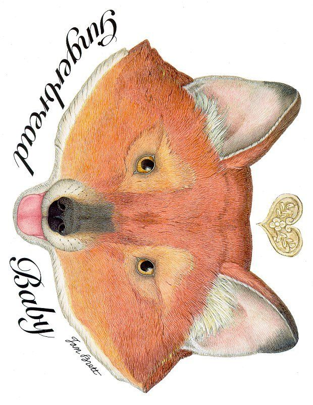 Gingerbread Baby Fox