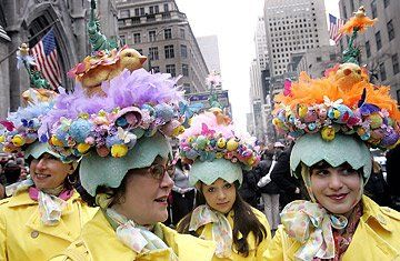 Put On Your Easter Bonnet for the Easter Parade — A Hat for all Seasons