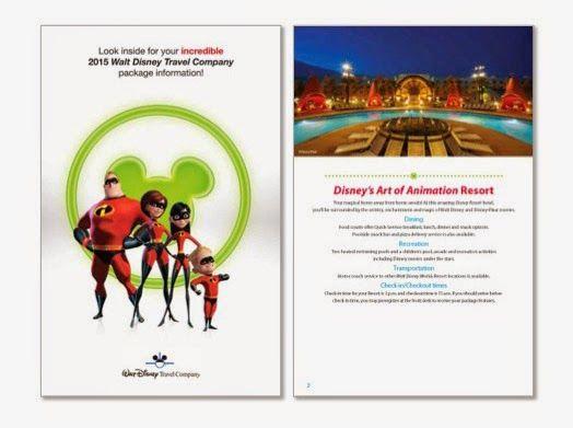 Disney World Travel Documents