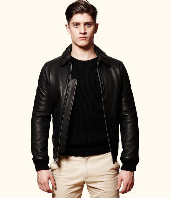 Louis W. for A.P.C. - Police Jacket (Black) - 1.300€