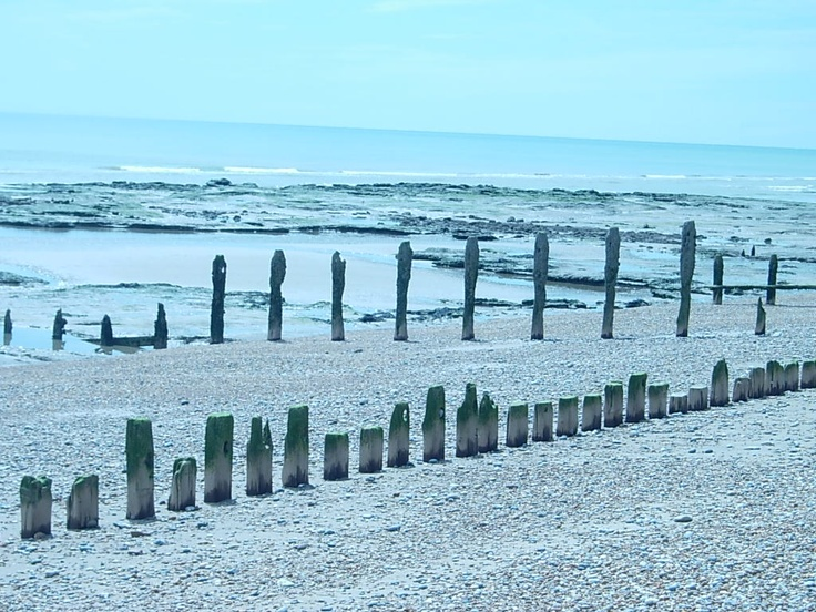 Pett level beach, near Hastings.