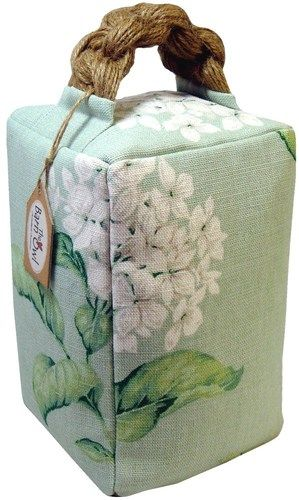 DOOR STOP Laura Ashley fabric Heligan