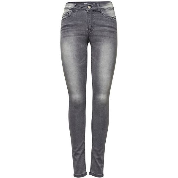 ULTIMATE SOFT REG. SKINNY JEANS BESTSELLER.COM ($43) ❤ liked on Polyvore featuring jeans, tall jeans, skinny jeans, zip jeans, skinny fit denim jeans and skinny fit jeans