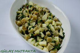 gülay mutfakta: Enginar Salatası