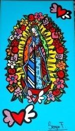 Virgen de Guadalupe More info: sergiofelipef@hotmail.com