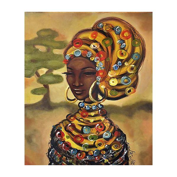 PRODUKTY :: UMENIE :: Obrazy :: Obraz Afričanka