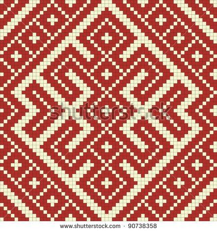 European Knitting Patterns : Slavic knitting pattern Eastern Europe Pinterest Knitting patterns, Kni...