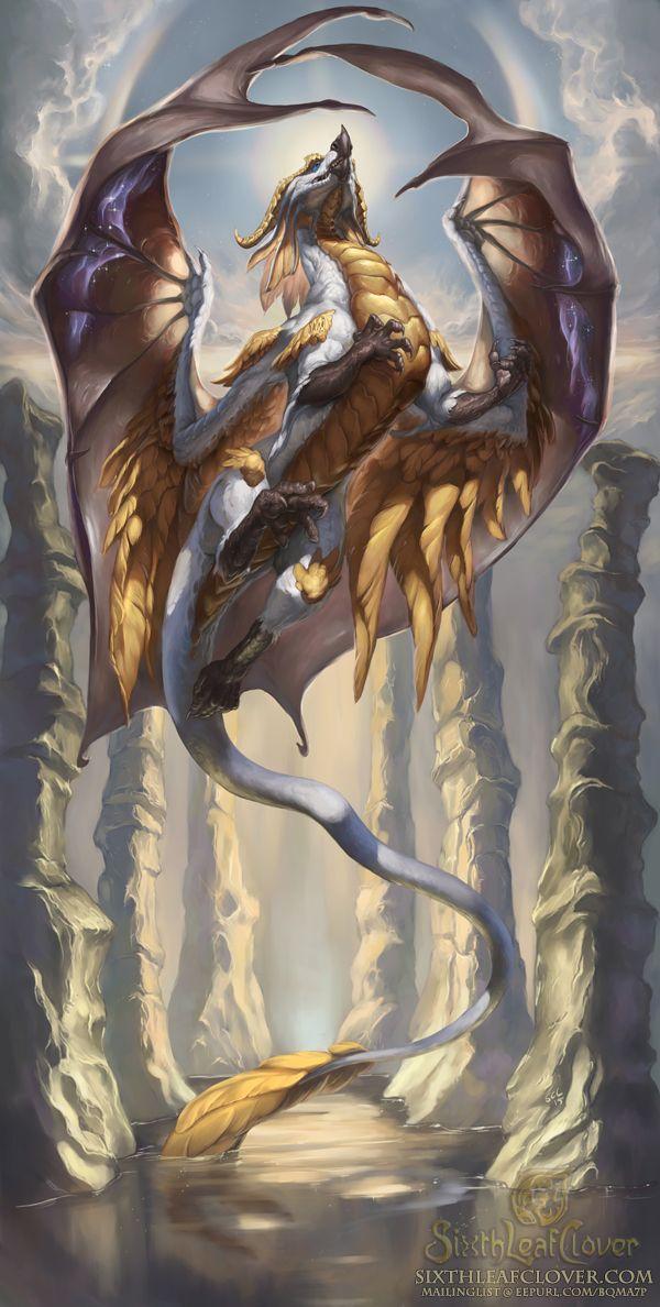 2016 Zodiac Dragons Virgo by The-SixthLeafClover.deviantart.com on @DeviantArt