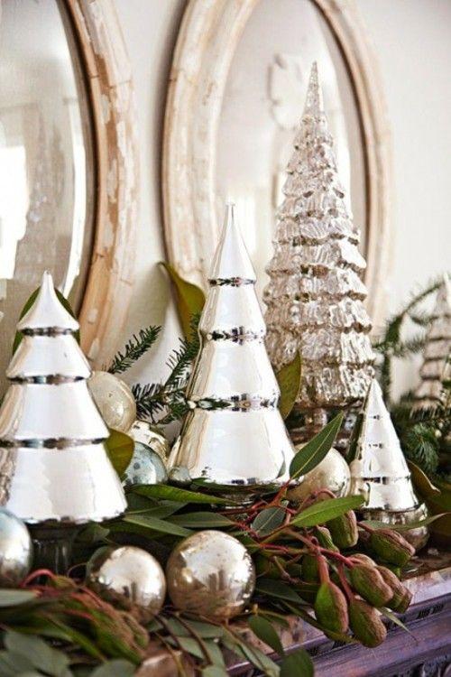So Pretty. Christmas Mantles.