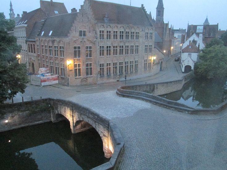 Twilight in Bruges..