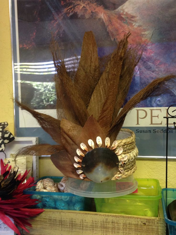 Tahitian Headpiece for ITO Competition in Long Beach, CA