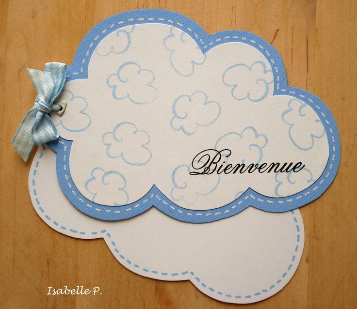 Faire-part nuage