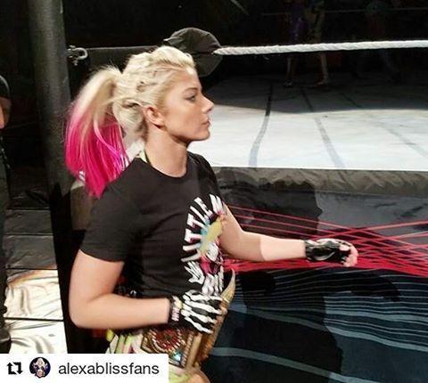 #Repost @alexablissfans (@get_repost) ・・・ Another amazing shot of @alexa_bliss_wwe_ from #WWEBuffalo!  @alexa_bliss_wwe_ • • • • #alexabliss #finnbalor #samizayn #beckylynch #nxt #wwe #sdlive #smackdown #wrestling #likes #briebella #womenswrestling #bliss #wwenxt #smackdownlive #deanambrose #romanreigns #ajstyles #champion #blissful #fierce #kevinowens #cesaro #nikkibella #sethrollins #sashabanks #balorclub #lana