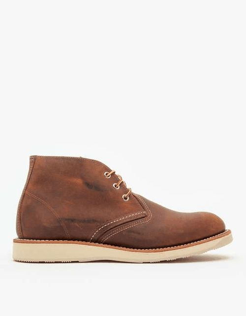 Love the Red Wing Shoes 3137 Work Chukka on Wantering | The Men's Bootery | mens chukka boots