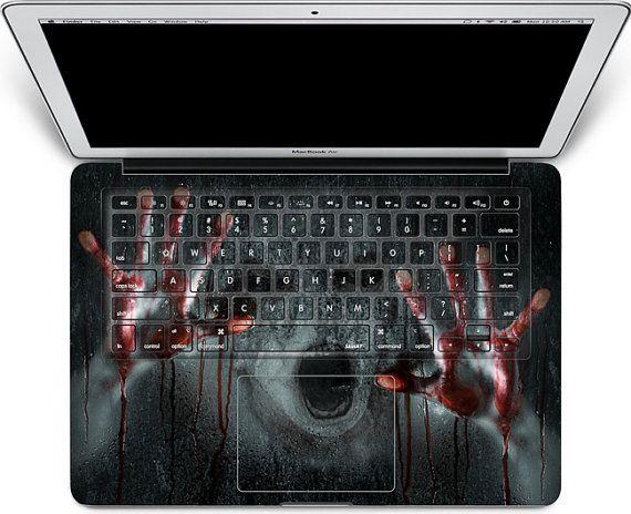 Macbook Decal  macbook keyboard cover/ macbook pro by MixedDecal, £12.55