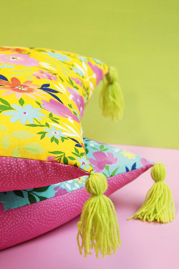 Spring Colors Pillows  ~ Mary Wald's Place -  Mollie Makes issue 64 Spring Homestyle