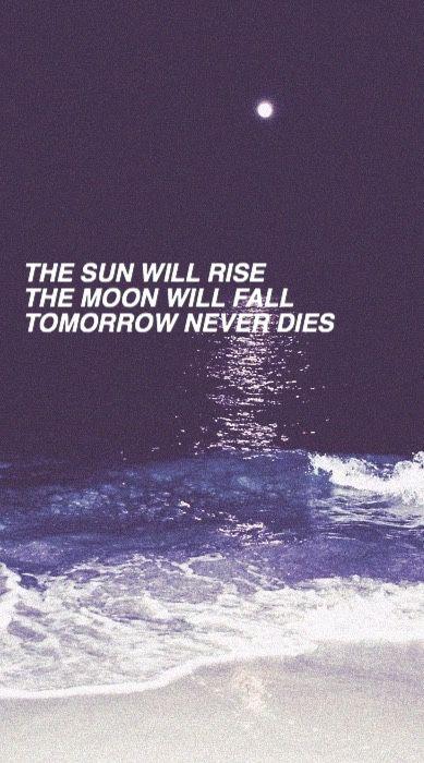Tomorrow Never Dies 5sos 5sos Lyrics Song Lyrics Wallpaper